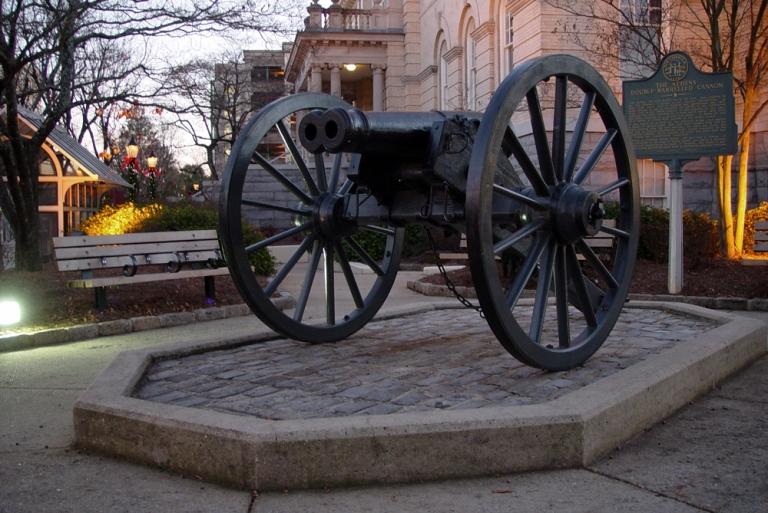 Double Barreled Cannon, Athens, Georgia