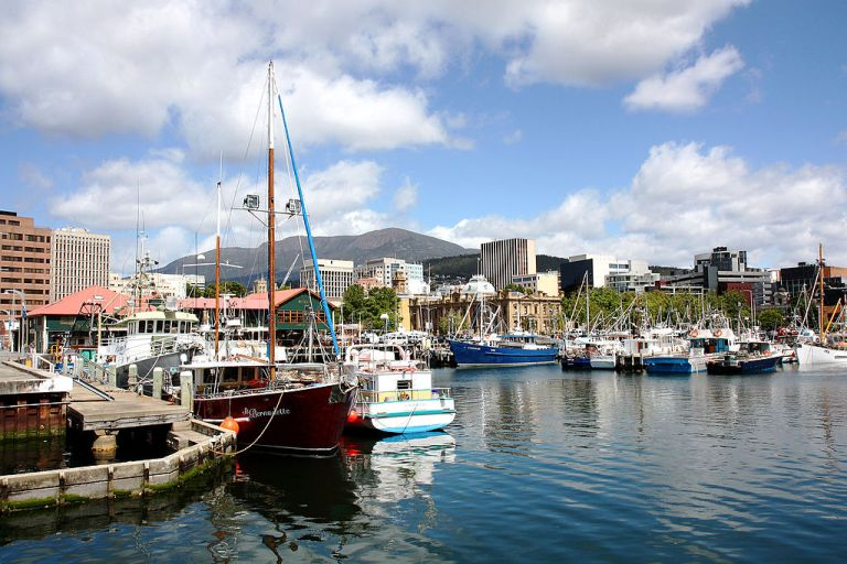 Photo: By Andrea Schaffer from Sydney, Australia (Hobart Uploaded by berichard) [CC-BY-2.0 (http://creativecommons.org/licenses/by/2.0)], via Wikimedia Commons