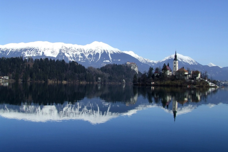 Photo: Mirci (Bled lake, Slovenia  Uploaded by Sporti) [CC-BY-2.0 (http://creativecommons.org/licenses/by/2.0)], via Wikimedia Commons