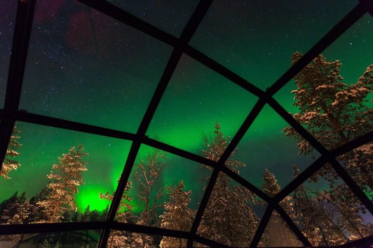 Photo: Kakslauttanen Arctic Resort