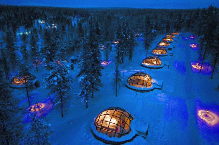 Photo: Kakslauttanen Arctic Resort