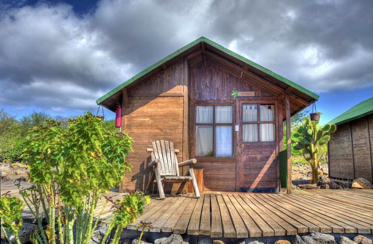 Photo: Floreana Lava Lodge by Tropic