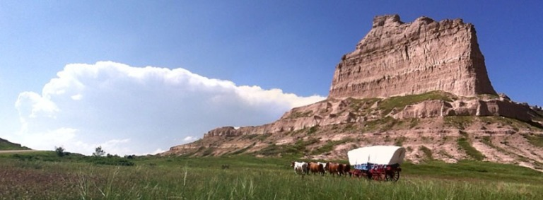 Photo: Scotts Bluff National Monument, National Park Service