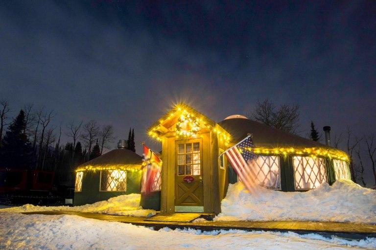 Photo: The Viking Yurt