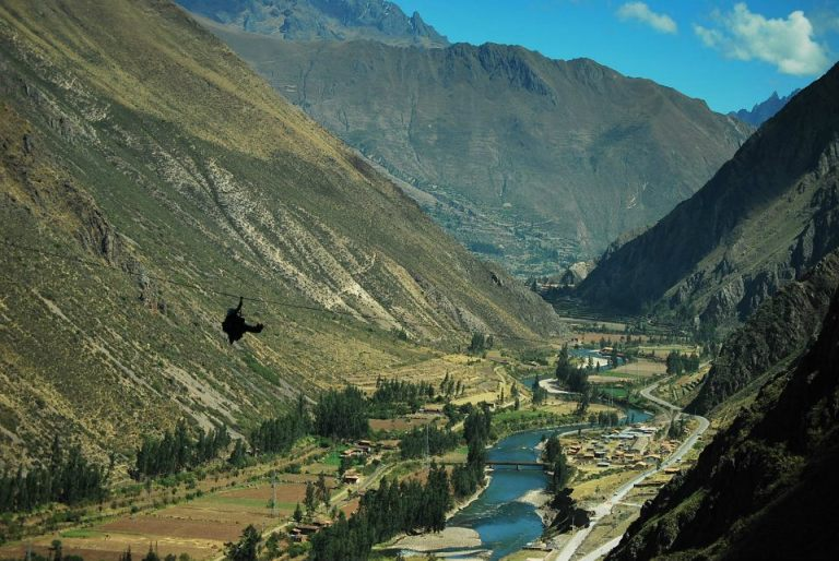 Photo: Sacred Valley Via ferrata & zip line / Skylodge Adventure Suites