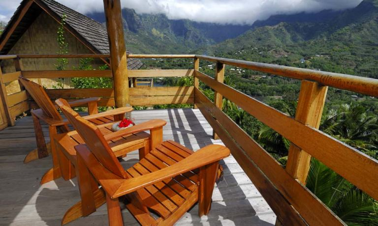 Photo: Hanakee Hiva Oa Pearl Lodge via Tahiti.com